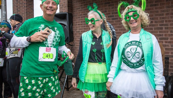 File photo from St. Patrick's Day 2017 in Muncie.