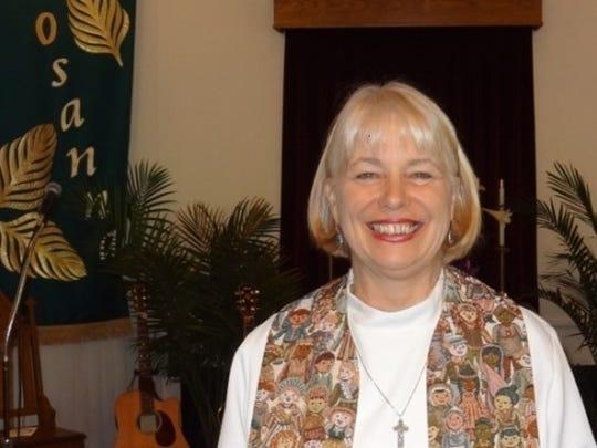 The Rev. Patty Frick.
