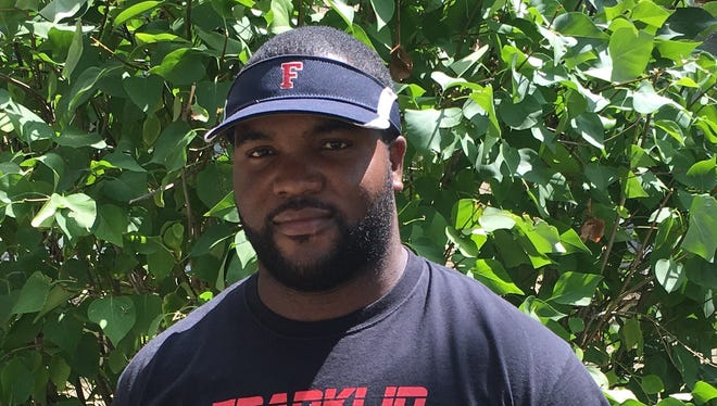 Chris Taylor, modified football coach at Franklin
