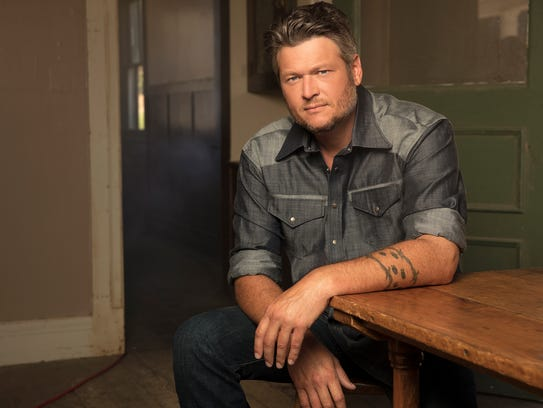 "Blake Shelton is among the country music artists performing in the ""Country Music Freaks"" Tour."