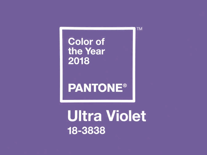 Ultra Violet Is Pantone S Color Of The Year 2018