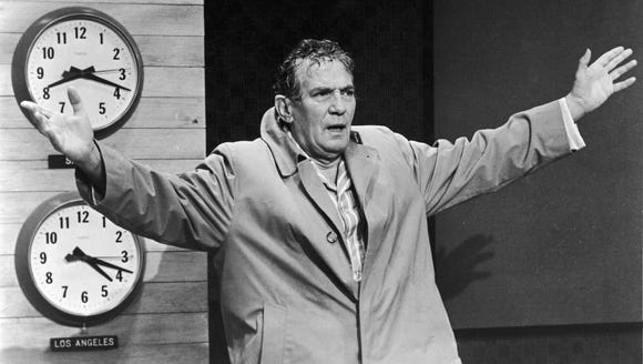 Peter Finch's epic rant in 'Network' is a cinematic