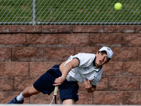 Dallastown vs Red Lion boys' tennis