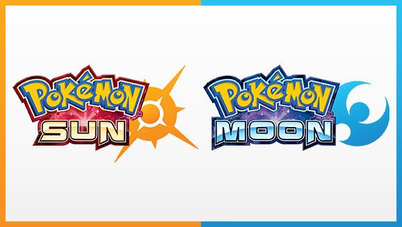 'Sun' and 'Moon' are the latest editions in the 'Pokemon' series.