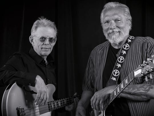 Jack Casady, left, and Jorma Kaukonen of Hot Tuna. Both musicians played at the Woodstock Music and Art Fair in 1969 with Jefferson Airplane.