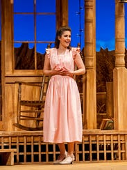 Angela Theis as Laurie in Michigan Opera Theatre's