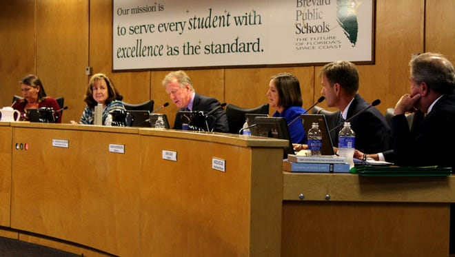 Andy Ziegler was selected as the new school board chairman. Misty Belford was elected as vice chair.