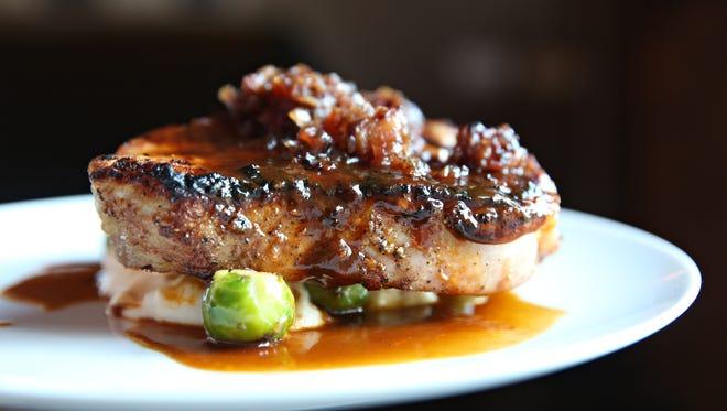 Ariane's Kitchen's popular pork chop