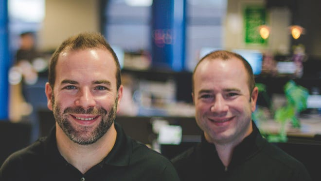 Ryan, left, and Rob Weber, tech entrepreneur brothers from St. Cloud, announced their venture capital firm Great North Labs raised $23.7 million from investors in a debut fund that will seed other startups in the Upper Midwest.