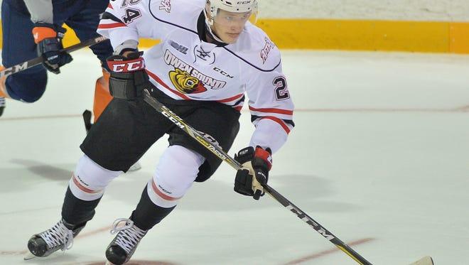 Maksim Sushko had 31 goals heading into Saturday's regular-season finale.