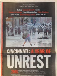 A copy of the Cincinnati Enquirer's special section