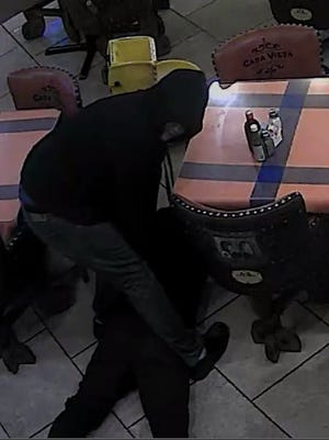 Hendersonville Police are seeking two suspects involved in a March 20 robbery at Casa Vieja restaurant on North Anderson Lane.