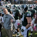 Mark Dantonio has given the Big Ten a thumbs-up with the way his Michigan State team has been playing this season.
