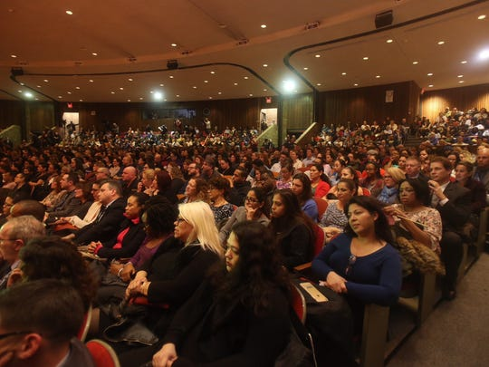Hundreds of residents attended a public meeting at