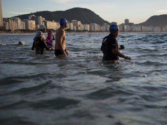 AP APTOPIX BRAZIL FILTHY WATER I OLY BRA