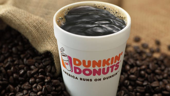 Dunkin' Donuts has a National Coffee Day deal Sept. 29.