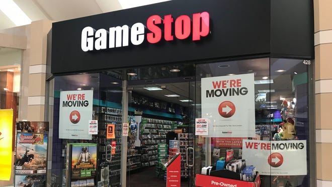 The Game Stop store in Wausau Center mall will close on Jan. 20.