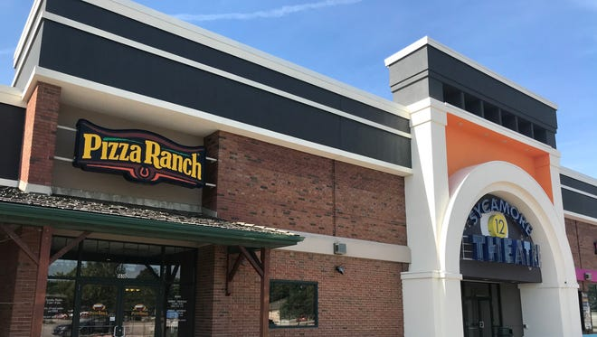 The Iowa City Pizza Ranch location at the Iowa City Marketplace is shown on July 18, 2018.