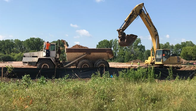 Site work has started on the new Holiday Inn site in Grand Chute on Greenville Drive west of Casaloma Drive.