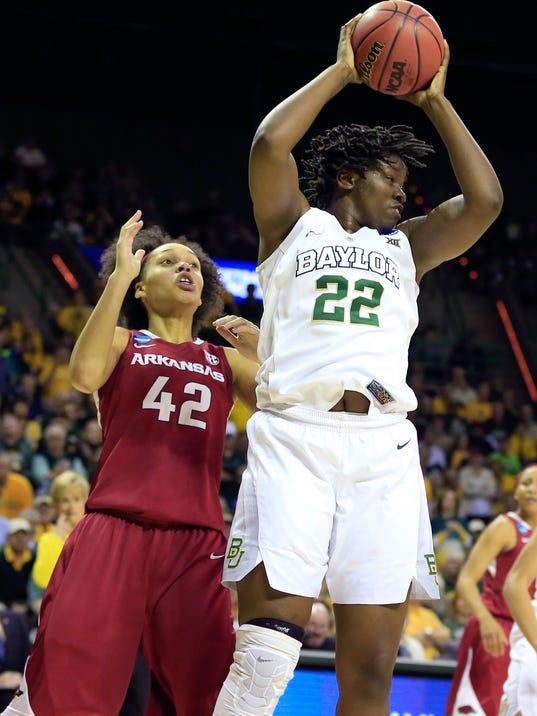 NCAA Womens Basketball: NCAA Tournament-2nd Round-Baylor vs Arkansas