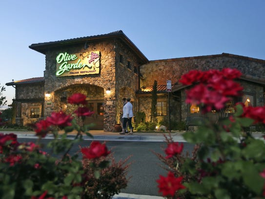An Olive Garden Restaurant in Short Pump, Va.