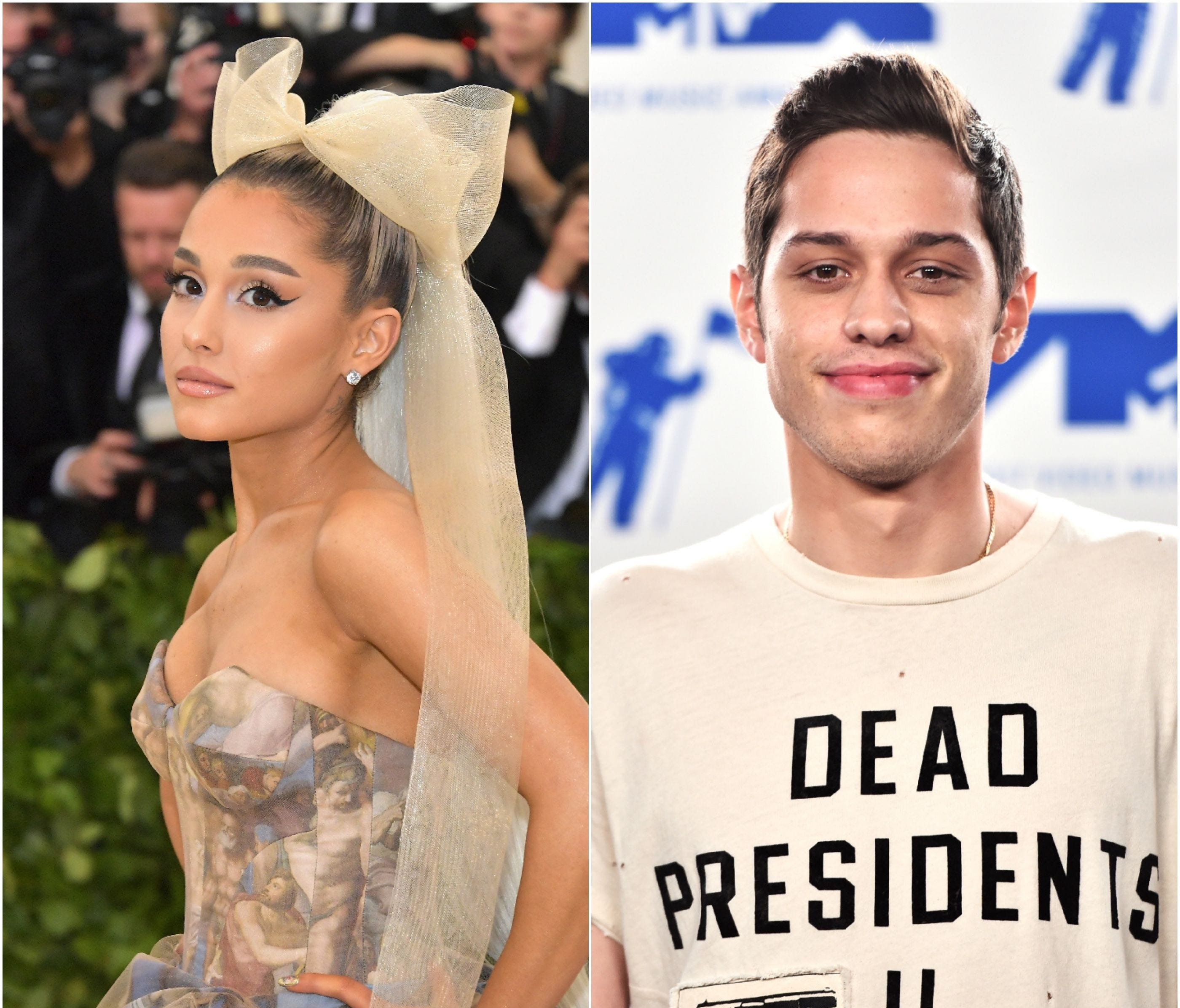 Reports are swirling that singer Ariana Grande and 'Saturday Night Live' cast member Pete Davidson are engaged after just weeks of dating. But they're hardly the first celebrity couple in a rush to put a ring on it or dash to the altar. Click forward