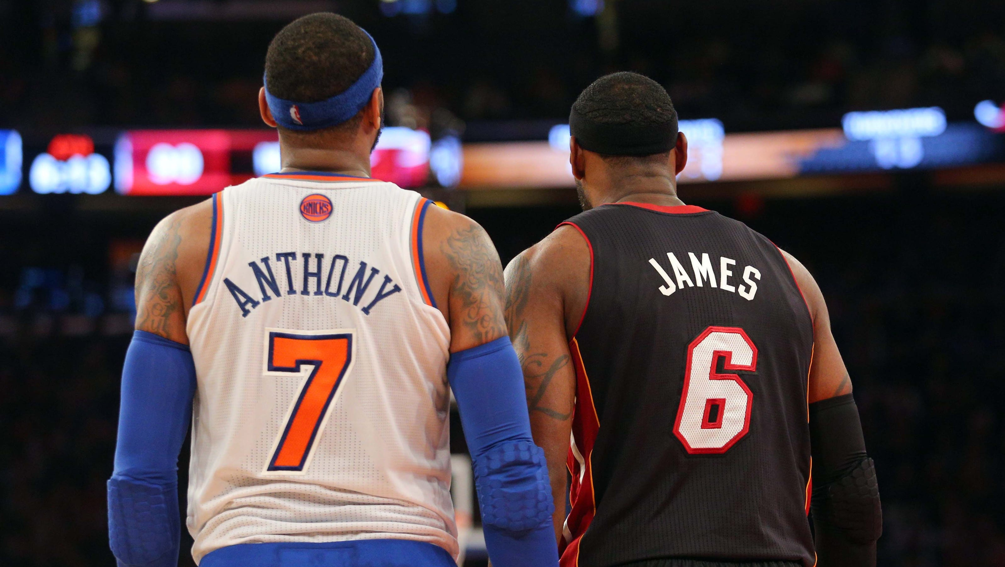Could Carmelo Anthony join LeBron James and the Heat for a ...