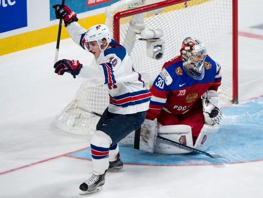 Troy Terry Ilya Samsonov