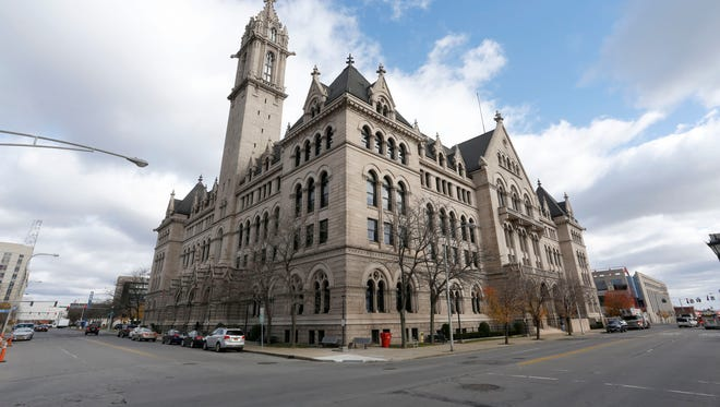 The Old Post Office in Buffalo, now part of Erie Community College's city campus, was the scene of the arrest of the Buffalo Five in August 1971.   ORG XMIT:  US 135774 Old Post office 11/21 [Via MerlinFTP Drop]