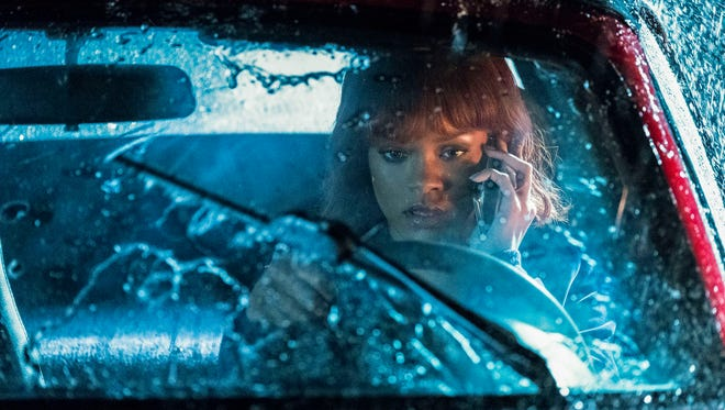 Rihanna makes her first 'Bates Motel' appearance as Marion Crane in Monday's episode of the A&E prequel drama, 'Dreams Die First.'