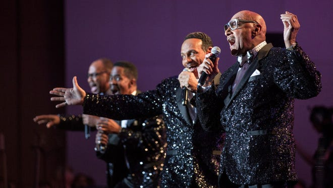 The Temptations and Four Tops visit Opening Nights in January 2019.