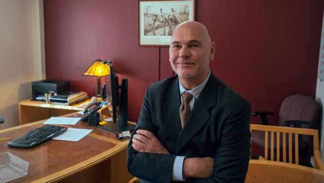 Rob McSherry, New Mexico State University Interim Provost for International and Border Programs.