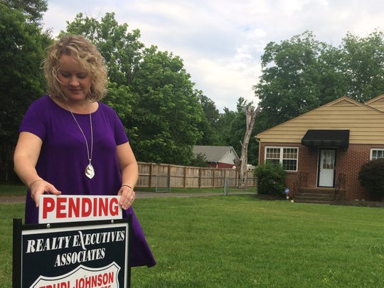 Trudi Johnson, a Realty Executives Realtor has a number of houses under contract in the North Knoxville area.