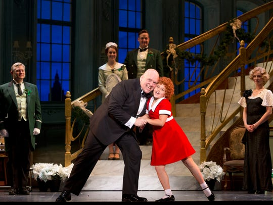 """""""Annie"""" arrives at the Fox Cities Performing Arts Center"""