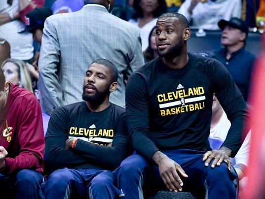 USP NBA: CLEVELAND CAVALIERS AT LOS ANGELES CLIPPE S USATSI-325418 USA CA