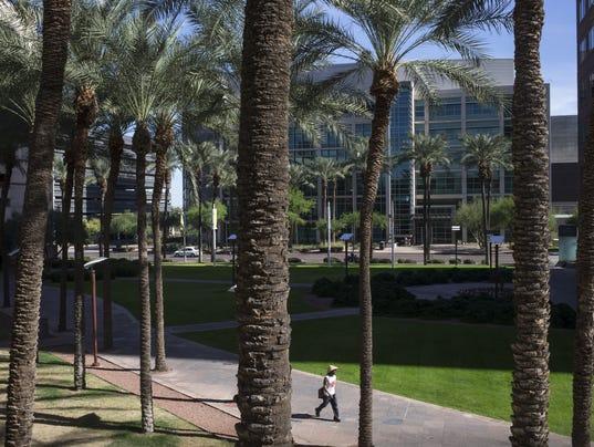Arizona Center construction