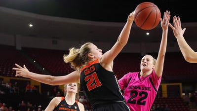 Oregon State's Marie Gulich scored 36 points at Arizona State in February. She could be a first-round candidate for the Phoenix Mercury in the WNBA draft on April 12.