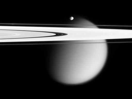 Saturn Cassini Finale