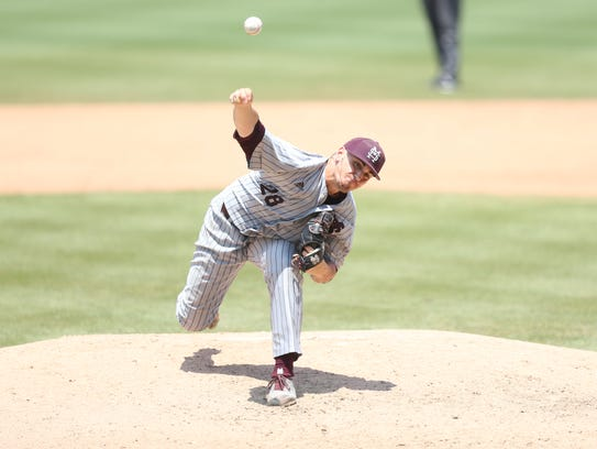 JP France gave Mississippi State seven innings in a