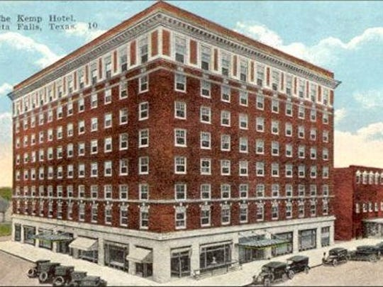 The Kemp Hotel was a landmark oil-boom era site until it was torn down in the 1960s. At 726 Scott Ave., The Kemp was replaced by a series of hotels, and may soon become housing for Midwestern State University students.