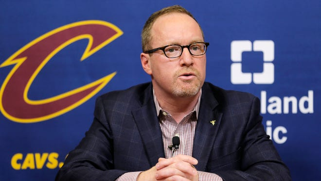 David Griffin was GM of the Cavaliers from Feb. 2014 through the 2017 season, winning the 2016 NBA title.