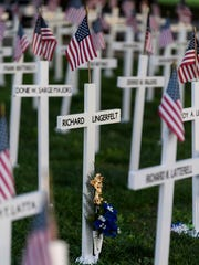 About 5,300 crosses representing deceased Henderson