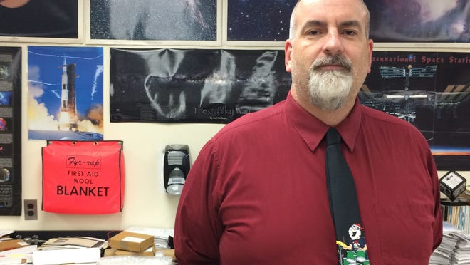 Webster Thomas High School physics teacher Bill Dykstra (provided photo)