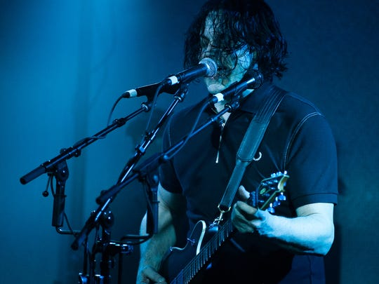 Jack White performs at Third Man Records on Saturday, March 17 in Nashville, Tenn.