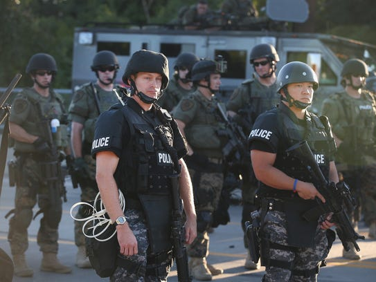 Ferguson, Mo., police protests