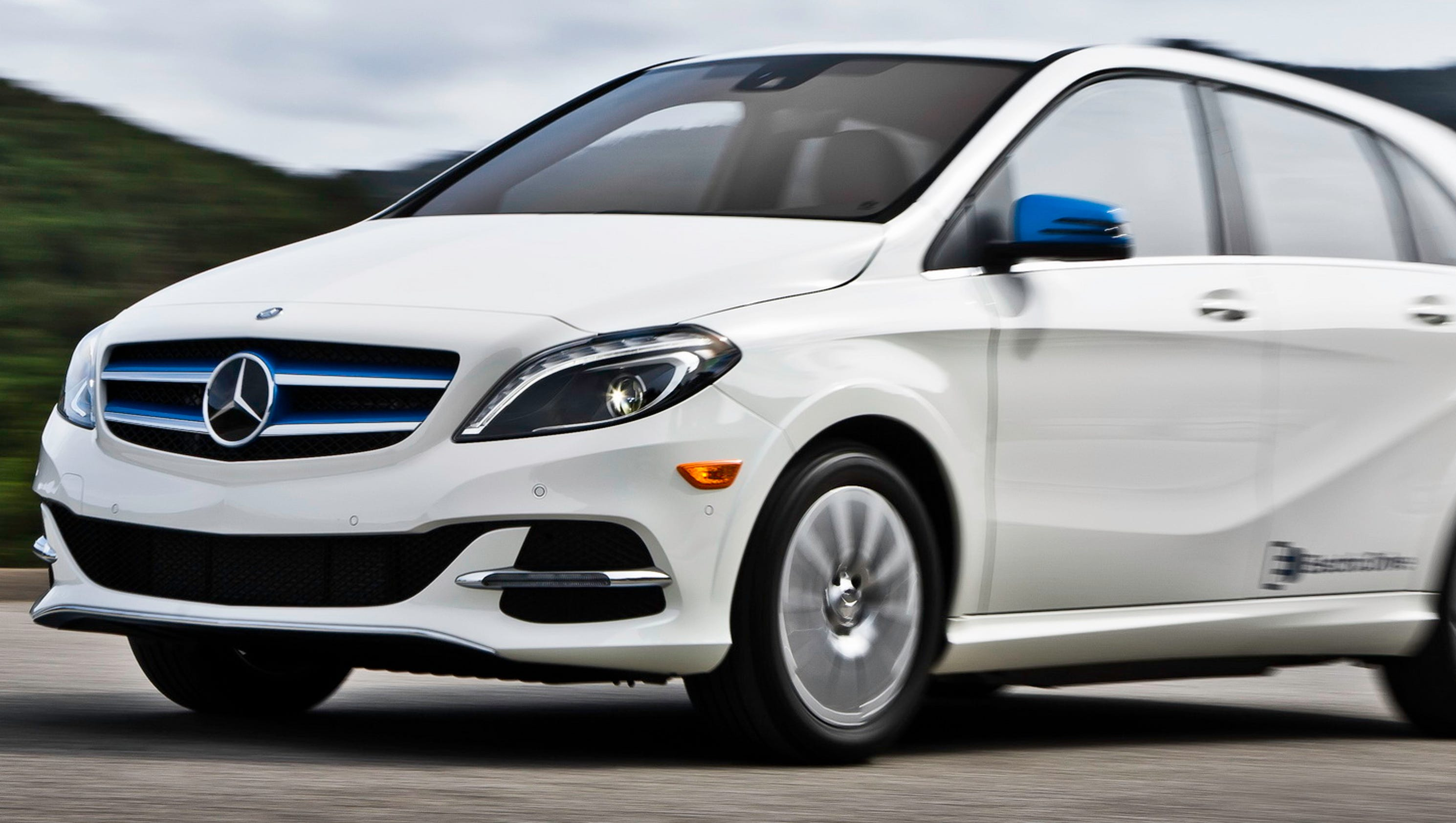 review: 2017 mercedes-benz b class electric drive is dynamic, powerful