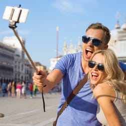 Selfie sticks get in the way of everyone else and can distract from an awesome attraction.