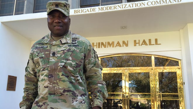 Command Sgt. Maj. Wil Engram is the new senior enlisted leader for the Brigade Modernization Command.