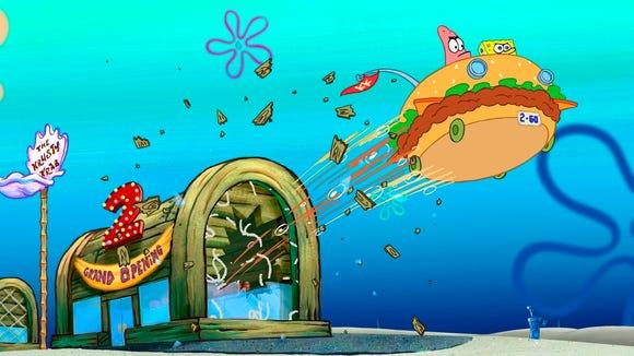 Spongebob Square Pants Krusty Krab Restaurant Palestine