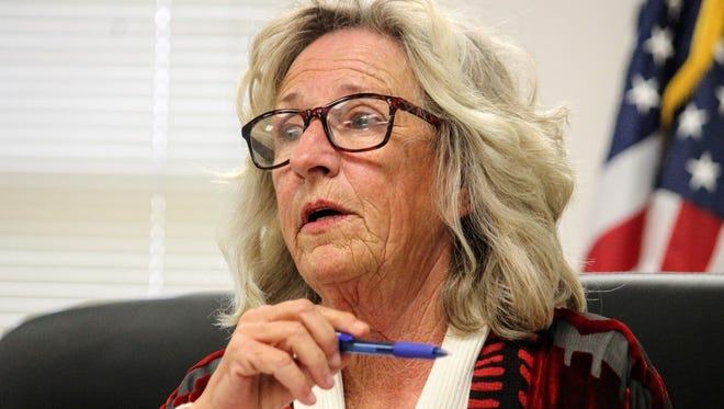 Commission Chairman Janet White discussed drafting a letter to lawmakers opposing White Sands National Monument becoming a World Heritage Site if it eventually becomes a national park at their Thursday, Jan. 12 meeting.